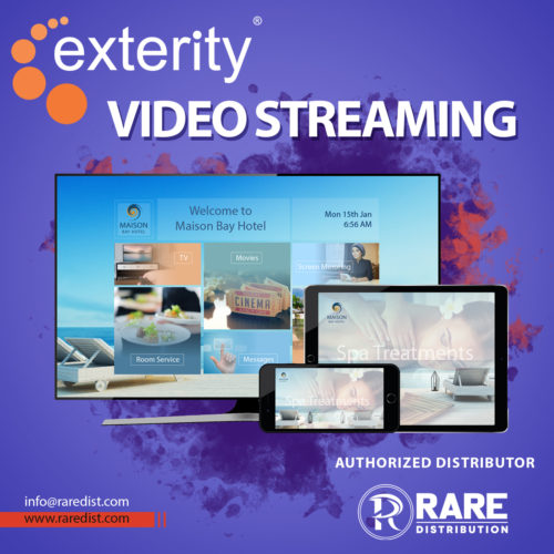 exterity video streaming