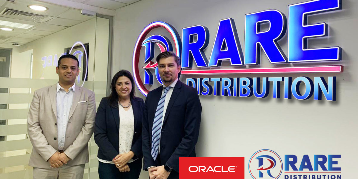 Strong Partnership: Rare Distribution taking a step ahead with Oracle-NetSuite, a complete ERP solution for all our business applications. That will help our growth in the whole MEA Region