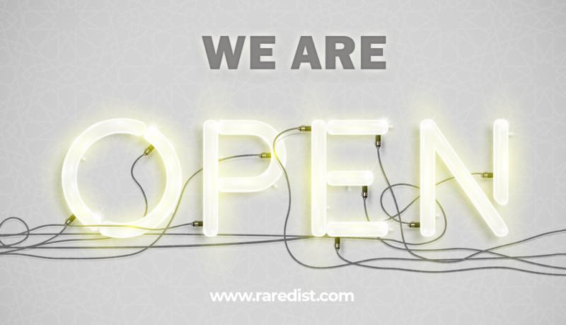 we-are-open-rare-distribution