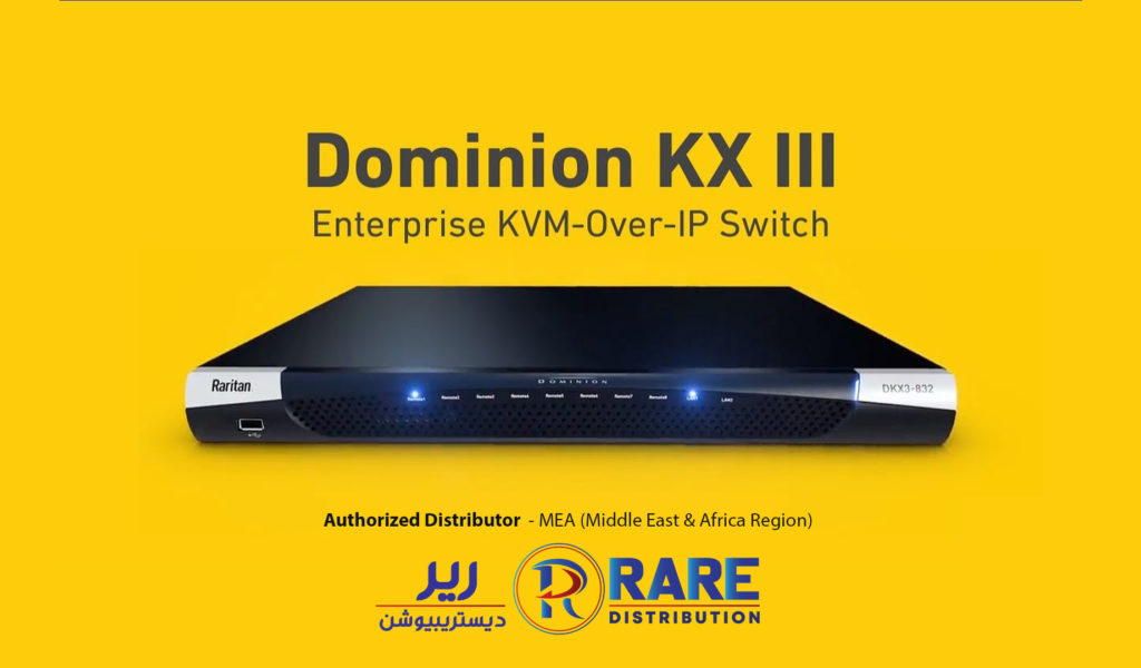 Raritan Dominion KX III | World's Leading KVM over IP Switch