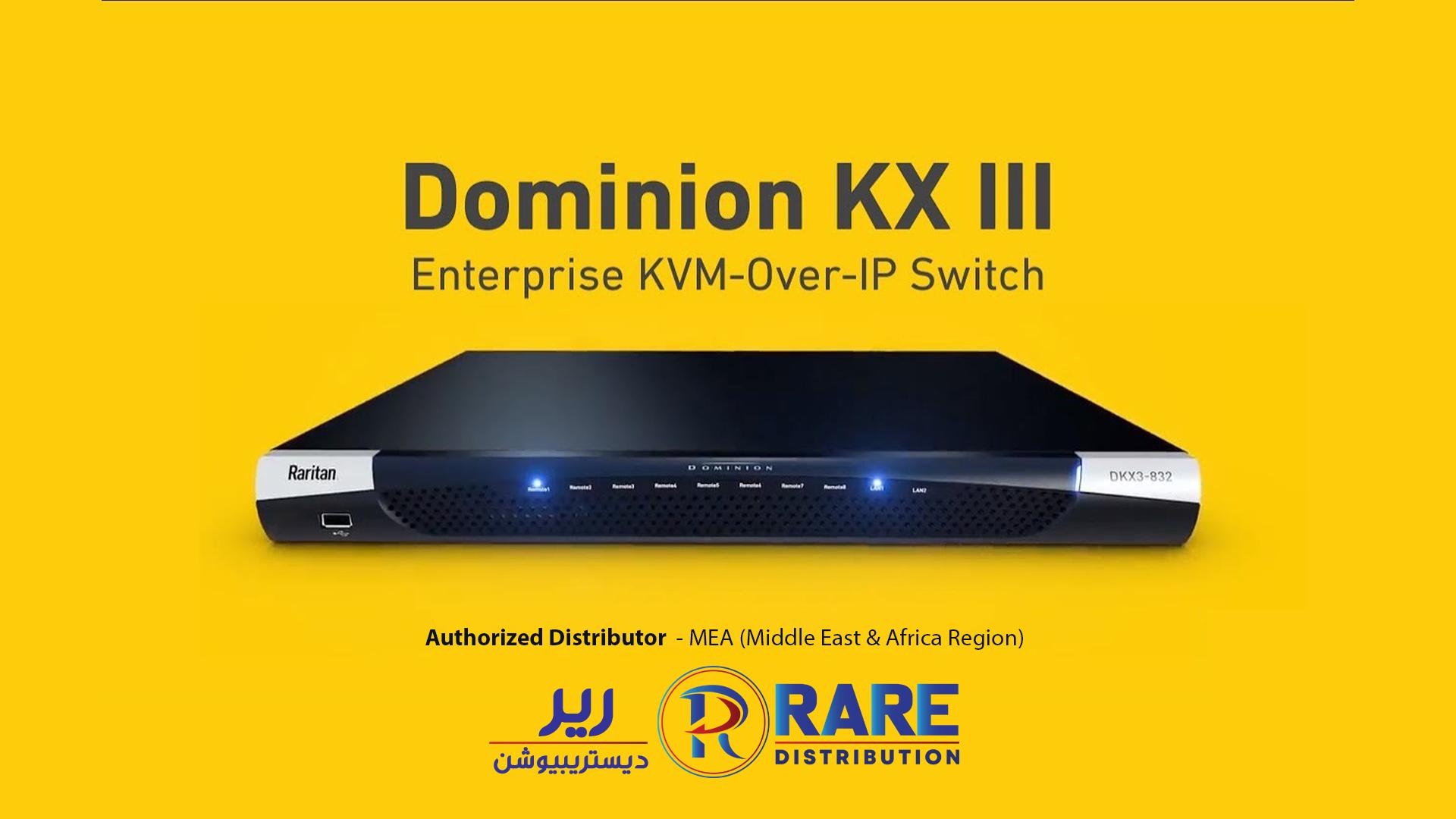 Raritan Dominion KX III | World's Leading KVM over IP Switch