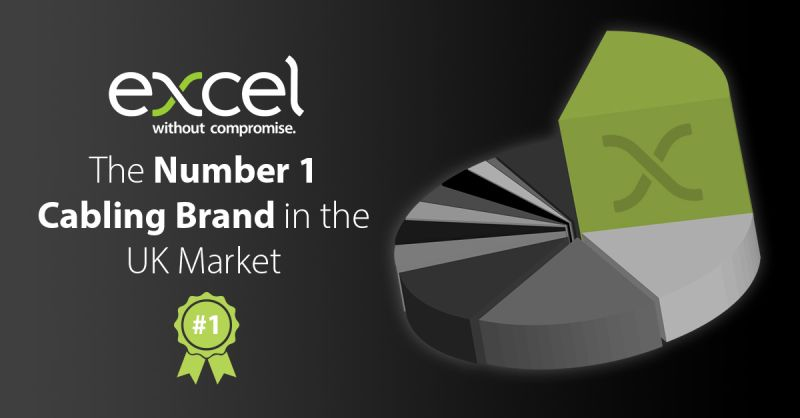 Excel is the No1 Cabling Brand in the UK
